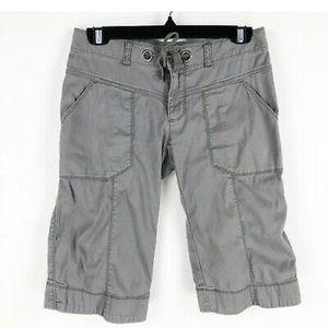 NORTH FACE Capri Shorts Drawstring Size 2